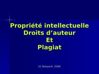 La propriété intellectuelle.ppt