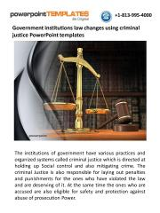 Government institutions law changes using criminal justice PowerPoint templates.pdf