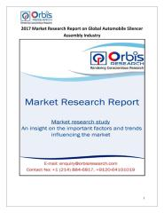 2017 Market Research Report on Global Automobile Silencer Assembly Industry.pdf