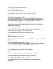 Aqidah-Macam-macam Syirik Besar (Akbar).doc