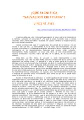vicent ayel -  que significa salvacion cristiana.pdf