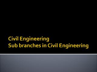Civil_Engineering_Specializations.ppt