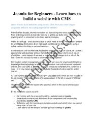 Joomla for Beginners - Learn how to build a website with CMS.pdf