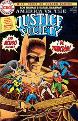 America Vs The Justice Society 01 por Tyroc & Howard.cbr