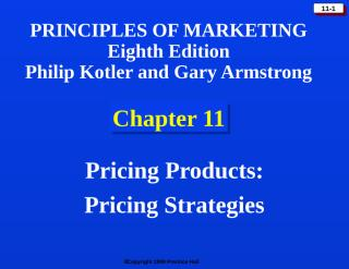 pricing strategies KOTCHA11.ppt