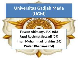 UGM 2.pptx